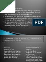 MORA Según El Codigo Civil Comercial Argentino