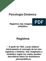 Registros Real, Imaginario y Simbòlico