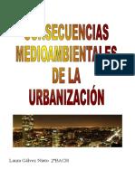 Trabajo Urbanización