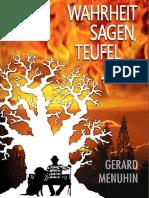 Menuhin Gerard Wahrheit Sagen Teufel Jagen