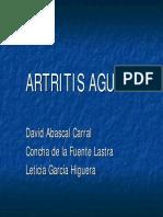 ARTRITIS AGUDAexpos