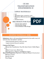 Highway Materials & Mix Design Ppt. Mmh