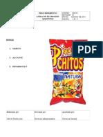 Preparacion de Extruidos de Maiz