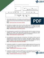 EXERCÍCIOS Dimensionamento Da Frota Para Distribuição GABARITO