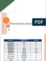 3 Biometría hemática
