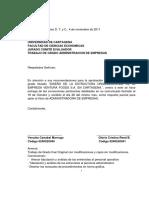 Proyecto Final Diseño de La Estructura Organizacional de Ventura Foods s.a. en Cartagena
