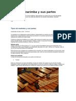 Tipos de Marimba y Sus Partes