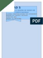 Unidad 5 Modelado de Redes de Datos a Nivel de Red