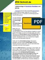 Schrottdemontage im Ruhrgebiet