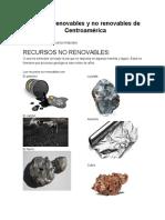 Recursos Renovables y No Renovables de America-01!05!2014