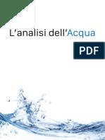 analisi dellacqua