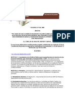 Acuerdo 2009 Bogotá - Derechos LGBT
