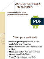 Multimedia in Android Studio