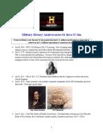 Military History Anniversaries 0601 Thru 061516