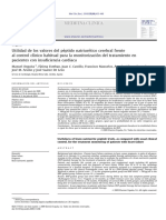 Utilidad de Los Valores Del Peptido Natriuretico Erebral Grente Al Conrtro Clinico Habitual Para La Monitorizacion Del Trataiento en Paientes Cocon Insuficiencia Cardiaca