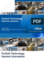 ProSoft Ethernet Solutions