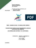 TCONCEPCIONES TEORICAS QUE FUNDAMENTAN EL ANÁLISIS SOCIOLÓGICO DEL DERECHO