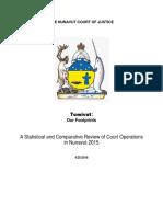 2015 Annual Report Nunavut Court of Justice
