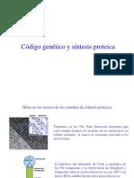 Código Genético y Sintesis Proteica