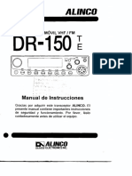 Alinco DR 150T Manual Usuario en Español