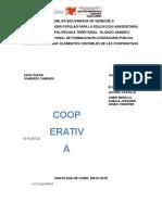 Informe Cooperativa YENNIFER LEMUS