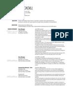 matt stockdill resume 05292016