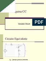 Gerador CC - Shunt