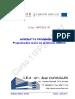 Programación Básica de Autómatas OMRON