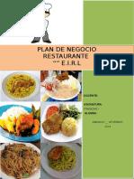 Plan Negocio Finall Jhodica Con Indice de Hoyy