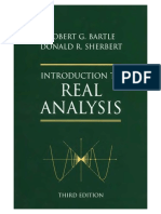 Bartle R.G., Sherbert D.R. Introduction to Real Analysis