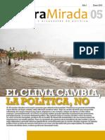 El clima cambia, la política no
