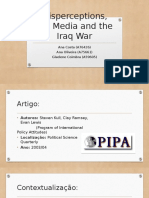 Misperceptions the Media and the Iraq War