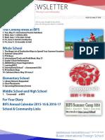 BIFS Newsletter, 2016-05-27 (English)