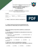 Examen Diagnóstico Geografía 2015-2016