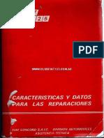 Fiat 125 - Datos y Caracteristicas[1]