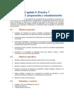 soluciones preparacion y estandarizacion