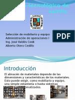 Seleccion de Moviliario y Equipo de Almacen