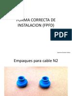 Forma Correcta de Instalacion (Fpfd)