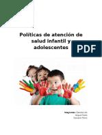 Politicas de La Infancia
