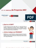 ABC Banco de Proyectos MEF Para Locales Escolares