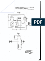 """U.S. Patent 2,096,106, entitled """"Transforming pressure variations into electrical variations"""" issued 1937."""