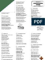 Cancionero - II Encuentro Prevocacional Decanato V