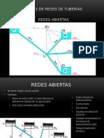 Análisis de Redes de Tuberías