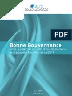 Bonne+gouvernance+entre+la+situation+actuelle+et+les+dispositions+de+la+nouvelle+Constitution+de+