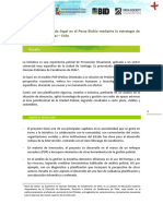 24 Reduccion de Mercado Ilegal en El Persa Biobio