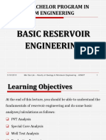 Basic Reservoir Engineering - Part I