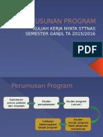 Penyusunan Program Gedangsari2015