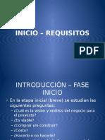 02 - Inicio Requisitos