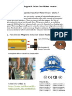Induction Water Heater Theory and Advantage