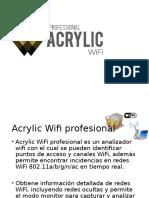 Acrylic Wifi Profesional Autoguardado